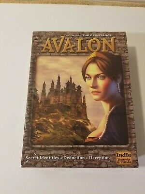 The Resistance: Avalon Board Game (Brand New)
