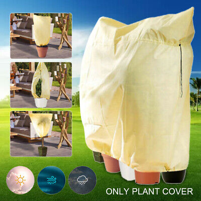 Garden Frost Protection Bag for Winter Fleece Warm Cover Protector Plant Tree UK
