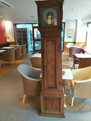early ANTIQUE longcase clock grandfather oak CASE ; FRENCH ANTIQUE circa 1830