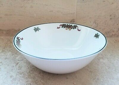 Johnson Brothers Victorian Christmas Serving Bowl Porcelein China England