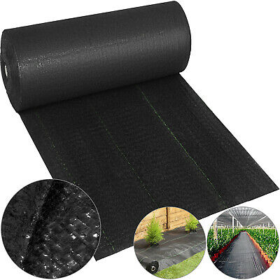4x250ft weed control fabric landscape membrane ground cover driveway barrier