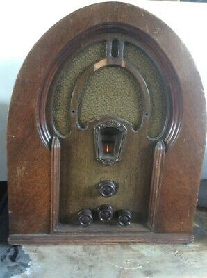1933 Vintage Philco Cathedral Model 71  - Working