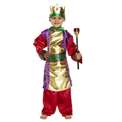 Children/'s King Wise Men Nativity Play Book Day Fancy Dress Costume Ages 4-12