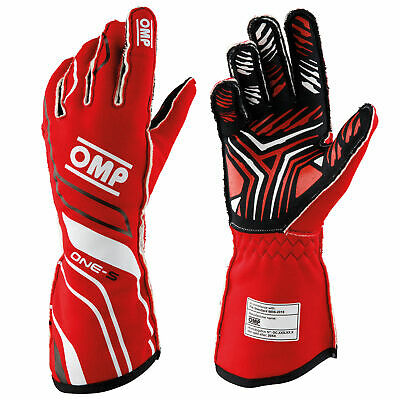 OMP One S Race Gloves - FIA 8856-2018 approved