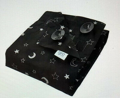The Gro Company Stars and Moons Gro Anywhere  Portable Cordless Blackout blind