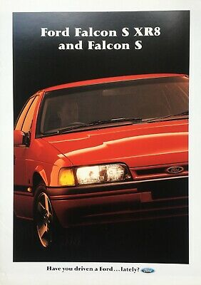 Ford Falcon EB S XR8 and Falcon S Brochure