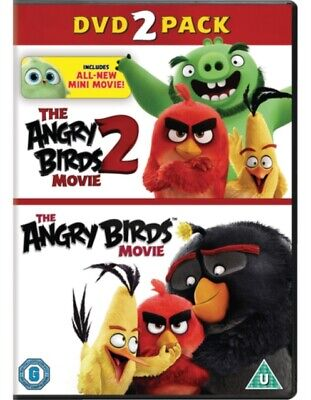 The Angry Birds Movie 1&2 *NEW* DVD