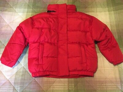 Next Girls Red Padded Jacket. Size 6 Years