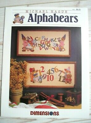 Alphabears M.Hague / Dimensions # 171  Stickmuster Kreuzstich Cross Stich