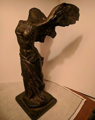 Winged Nike Victory 15in BEAUTIFUL Samothrace Greek Goddess Statue Sculpture