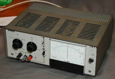 Vintage WEIR MAXIREG 761.1 LAB Bench Power Supply
