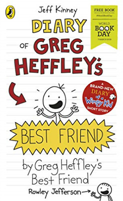 Diary of Greg Heffleys Best Friend Worl BOOK NEW