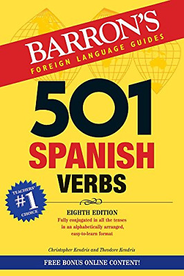 501 Spanish Verbs 501 Verb Barrons 501 Verbs