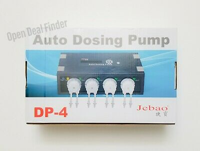 Jebao Programmable Auto Dosing Pump DP-4 FOR PARTS OR REPAIR