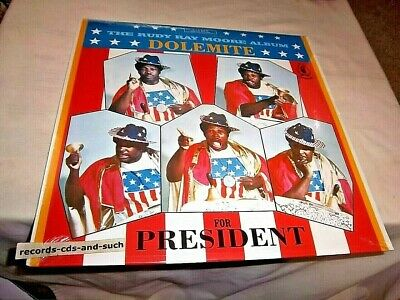 Rudy Ray Moore-Dolemite For President-Generation 2502 New Sealed Vinyl Record Lp