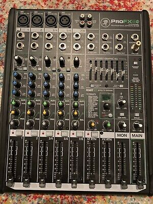 Mackie Profx8v2 8-channel Professional FX Mixing Console with USB