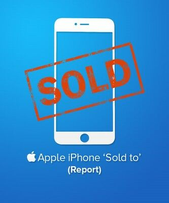 iPHONE IMEI SOLD-TO OR SOLD-BY AND COVERAGE CHECK