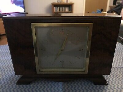 Stunning Walnut Cased Mantle Clock