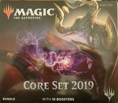 Core Set 2019 Bundle (ENGLISH) FACTORY SEALED BRAND NEW MAGIC MTG ABUGames