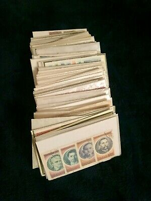 Stamps (collectable) Foreign & U.S. 100(+) glassine envelopes*LOW Starting bid!*