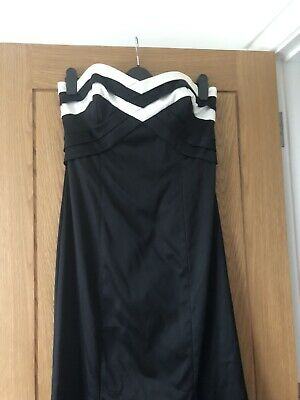 Coast black evening dress size 14