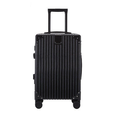 New Multi Size Travel Spinner Luggage Set Bag Trolley Carry On Suitcase Black