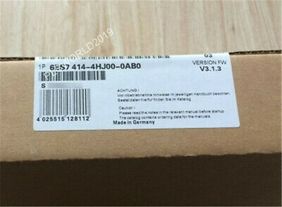 6ES7414-4HJ00-0AB0 CPU MODULE 414H 768KB 6ES7 414 4HJ00-0AB0 new &saled DHL SHIP