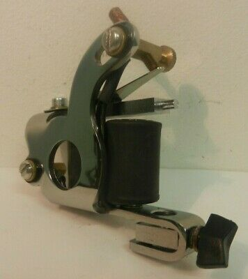 chrome intraderm comet tattoo machine british made
