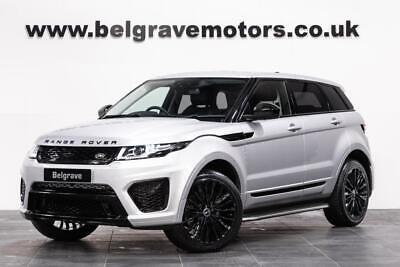 Land Rover Range Rover Evoque TD4 AUTO SE FULL SVR BODYSTYLING ONLY ONE FOR SALE