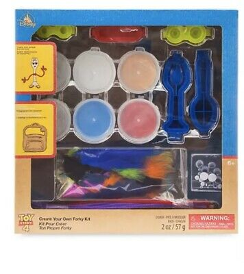 Disney Store Toy Story 4  Create Your Own Forky Playset Kit