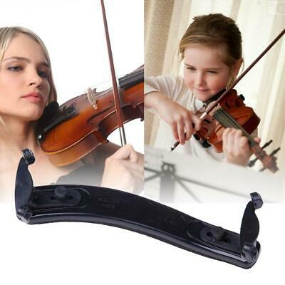 Violin Shoulder Rest Fully Adjustable Black Support for Violin 3/4 4/4 1/2 UK