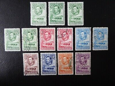 Stamps Bechuanaland Protectorate KGVI mint and used stamps