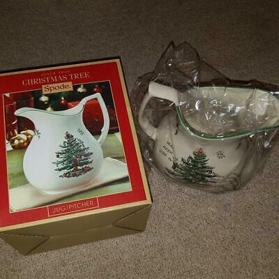 Spode Christmas Tree Jug Pitcher 1.4L 49oz NEW In Box Lovely Gift Present