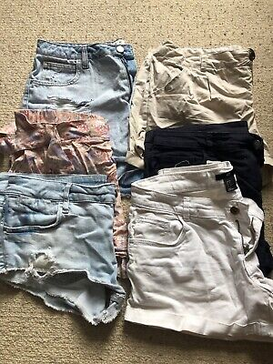 Bundle Of Short Size 12-14 New Look H&M Atmosphere