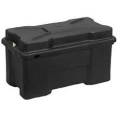 Heavy Duty Battery Box for batteries upto 120-200 A  Large Red BATB200RD1