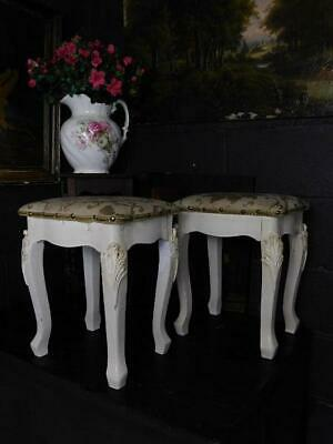 A Good Pair Of Vintage Louis Style Dressing Table Stools