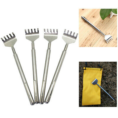 Expandable Stainless Steel Claw Massager Metal Pen Handy Telescopic Scratcher