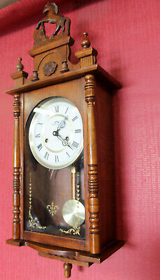 *Wall Clock  Chimes Clock *COMMODOR* 31 Day