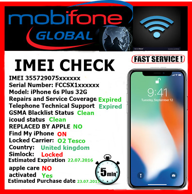 check info any devices IPHONE . SAMSUNG . MOTOROLA . LG . NOKIA....... FAST