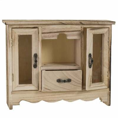 Wooden Curio Jewelry Box Natural Modern & Contemporary