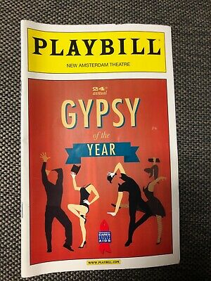 24th Annual Gypsy of the Year December 2012 Broadway Playbill