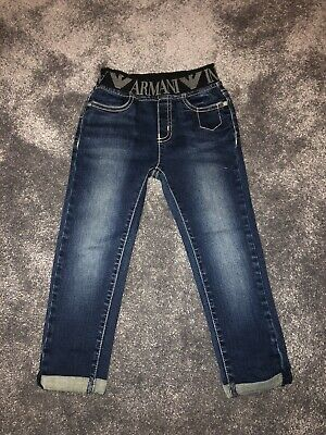 Armani Baby Boys Navy Blue Jeans 36months