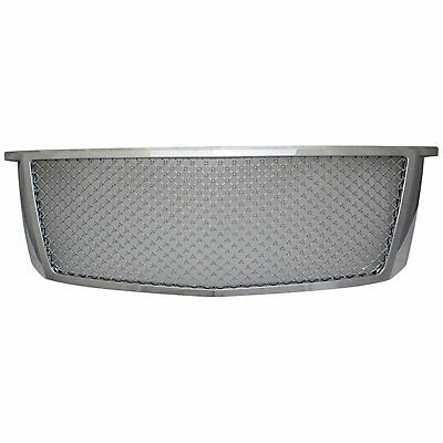 Premium FX Chrome ABS Mesh Replacement Grille for 2015-2016 Chevy Suburban