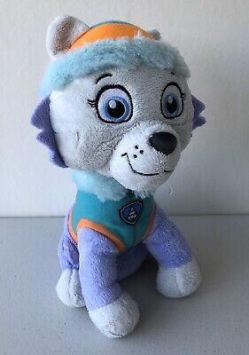 Paw Patrol Pup Plush Soft Toy Everest New Official Nickelodeon Dogs kids 10""
