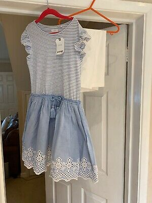 Bnwt Pretty Girls Dress & Leggings Set From Next Age 9yrs Was £22 New