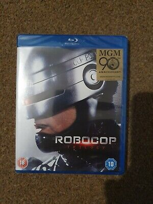 Robocop Remastered Trilogy- Box Set (Blu-Ray)