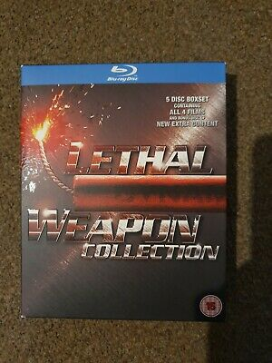 Lethal Weapon Collection - 1 - 4 Boxset (Blu-ray, 4-Disc Set, Box Set)