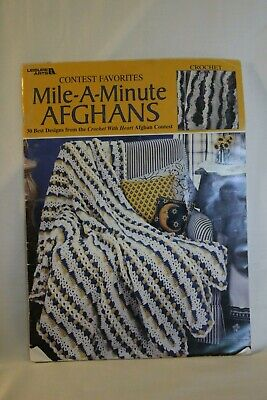 Leisure Arts - Mile-A-Minute Afghans Instruction book