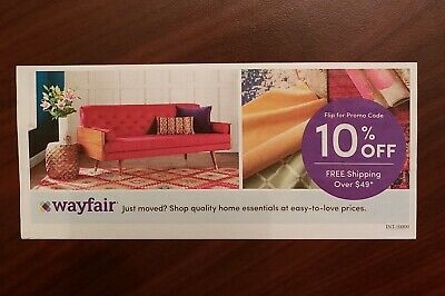 ^_^ WAYFAIR coupon 10% Off, Expires 12/31/2019