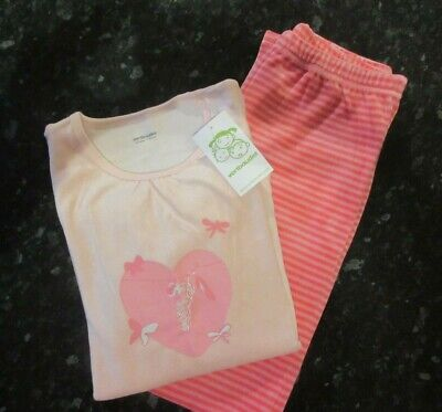 New with Tags: Vertbaudet, Girls Velour pyjama, pink mix, Age 11-12, 150cm